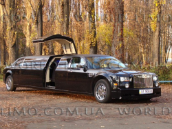 Лимузин Ролс-Ройс, а точнее лимузин Rolls-Royce Phantom (реплика) аренда и напрокат