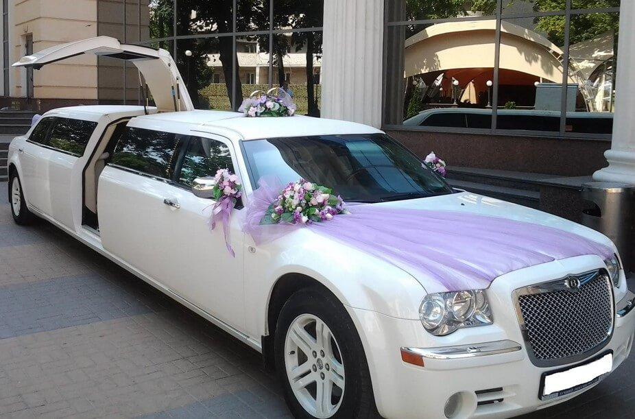 Выбор лимузина для свадьбы